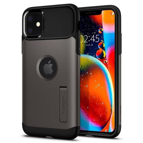 SPIGEN SLIM ARMOR IPHONE 11 GUNMETAL