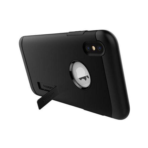 SPIGEN SLIM ARMOR IPHONE XS MAX BLACK +szkło 5D
