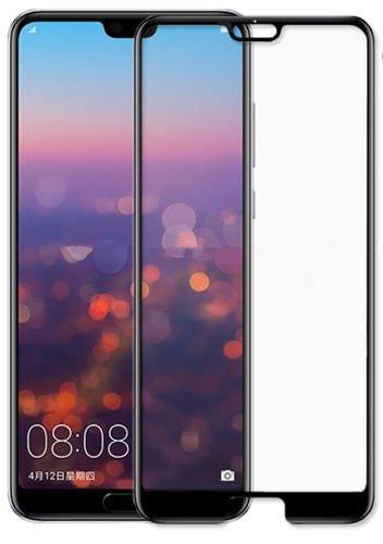 SZKŁO HARTOWANE FULL GLUE Huawei P20 czarny
