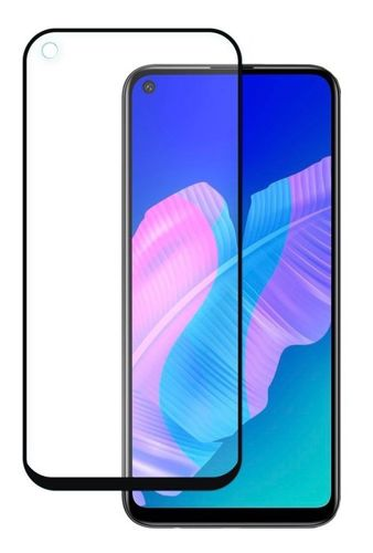 SZKŁO HARTOWANE FULL GLUE Huawei P40 Lite E czarny