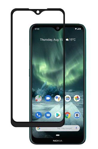 SZKŁO HARTOWANE FULL GLUE Nokia 6.2 / 7.2 czarny