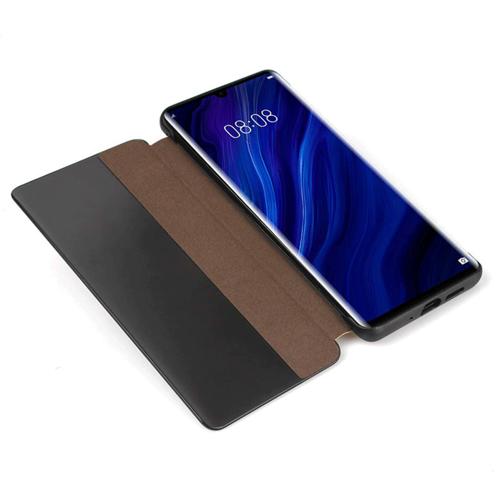 Sleep Case pokrowiec etui z klapką typu Smart Cover Huawei P30 Pro czarny
