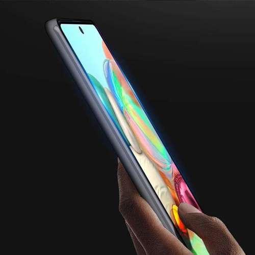 Szkło hartowane 5D Samsung Galaxy A71 Full Glue czarne