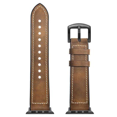 TECH-PROTECT OSO opaska pasek bransoleta BAND APPLE WATCH (42MM) 1/2/3 VINTAGE BROWN