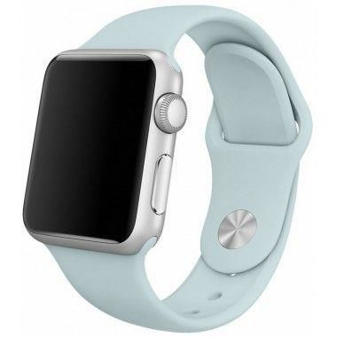 TECH-PROTECT SMOOTH opaska pasek bransoleta BAND APPLE WATCH 1/2/3 (38MM) TURQUOISE