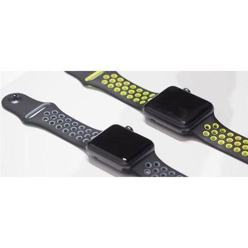 TECH-PROTECT SOFT opaska pasek bransoleta BAND APPLE WATCH 1/2 (42MM) BLACK/LIME