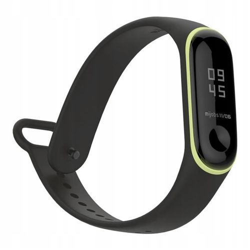 TECH-PROTECT opaska pasek bransoleta SMOOTH XIAOMI MI BAND 3/4 BLACK/YELLOW