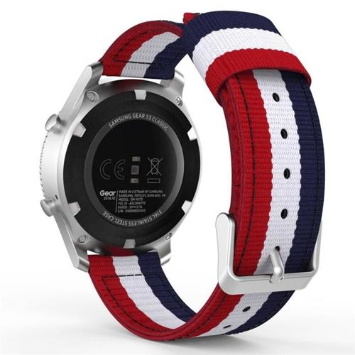 TECH-PROTECT opaska pasek bransoleta WELLING SAMSUNG GEAR S3 NAVY/RED