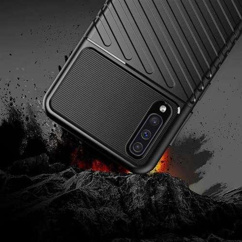 Thunder Case elastyczne pancerne etui pokrowiec Samsung Galaxy A50s / Galaxy A50 / Galaxy A30s czarny
