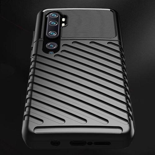 Thunder Case elastyczne pancerne etui pokrowiec Samsung Galaxy Note 10 czarny
