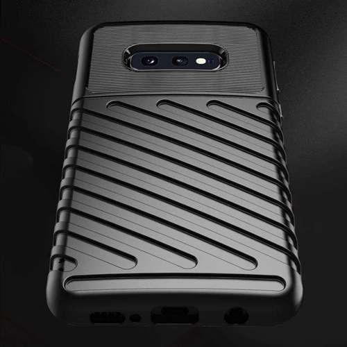 Thunder Case elastyczne pancerne etui pokrowiec Samsung Galaxy S10e czarny