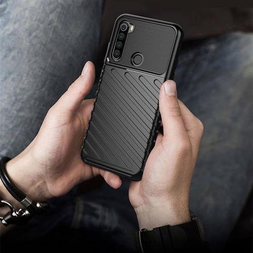 Thunder Case elastyczne pancerne etui pokrowiec Xiaomi Redmi Note 8T niebieski