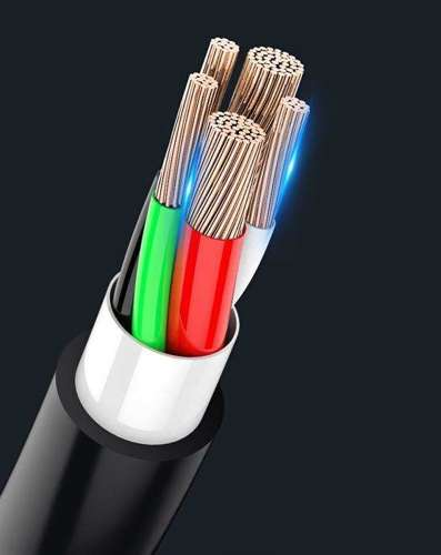 WK Design kabel 3w1 USB - micro USB / Lightning / USB Typ C 2A 115cm biały (WDC-103th white)