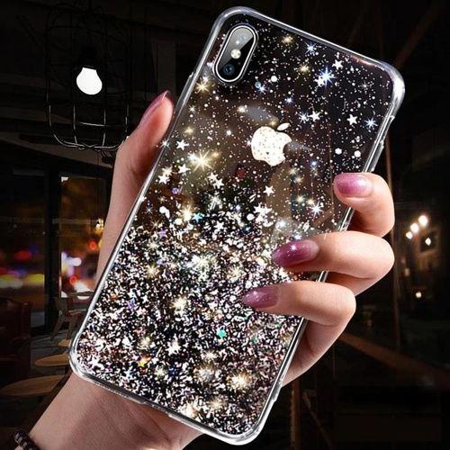 Wozinsky Star Glitter błyszczące etui pokrowiec z brokatem Huawei P30 Lite przezroczysty