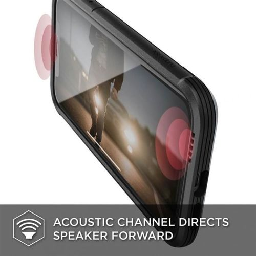 X-DORIA DEFENSE LUX IPHONE Xr BLACK LEATHER