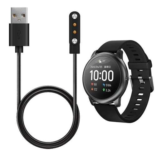ładowarka kabel magnetyczny do Xiaomi HAYLOU SOLAR LS05 czarna