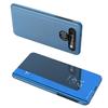 Clear View Case futerał etui z klapką LG K61 niebieski