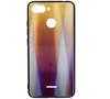 Etui Glass Rainbow XIAOMI REDMI 6 fioletowe